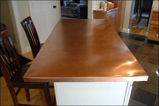 Secret Copper Shop Counter Top