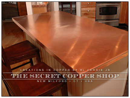 Copper Kitchen Counter